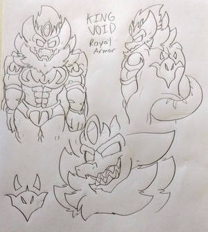 King Void (Royal Armored Outfit)