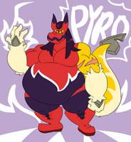 Pyro, Sharkwolf Wrestler!