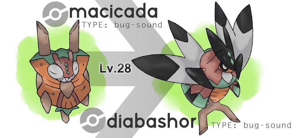 Macicada and Diabashor (NOT IN XENOVERSE)