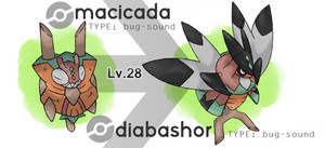 Macicada and Diabashor (NOT IN XENOVERSE)