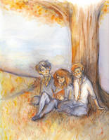 The Golden Trio. by pokings