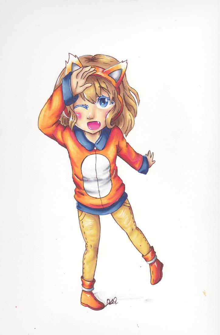 Fox Girl by FanGirlDSQ