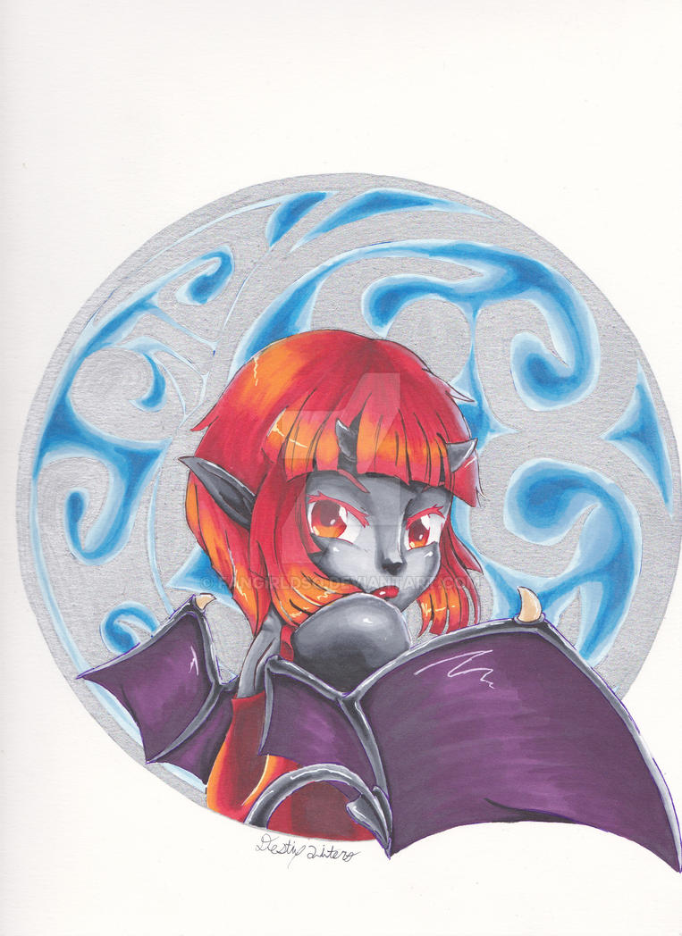 Lil demon by FanGirlDSQ