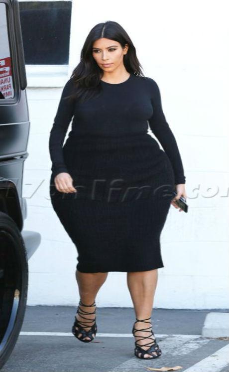 Kim Giant Ass by darhem