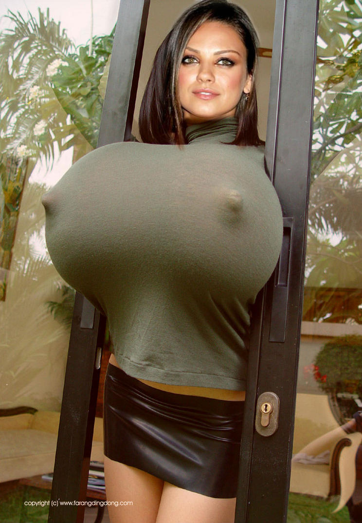 extremely huge breasts