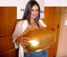 Mila Kunis Breast Expansion 3486 by darhem