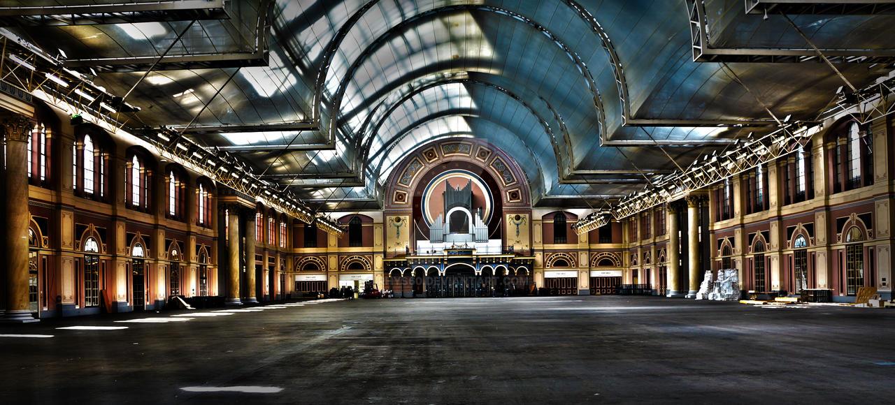 Alexandra Palace Interior By Rhys60 On Deviantart