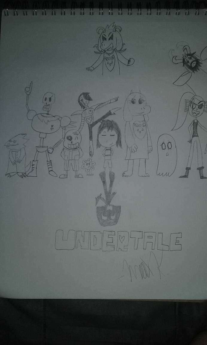 A Tribute to Undertale by maxkid1030 on DeviantArt