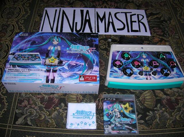 Hatsune Miku Project Diva F[1] by ninjamaster76