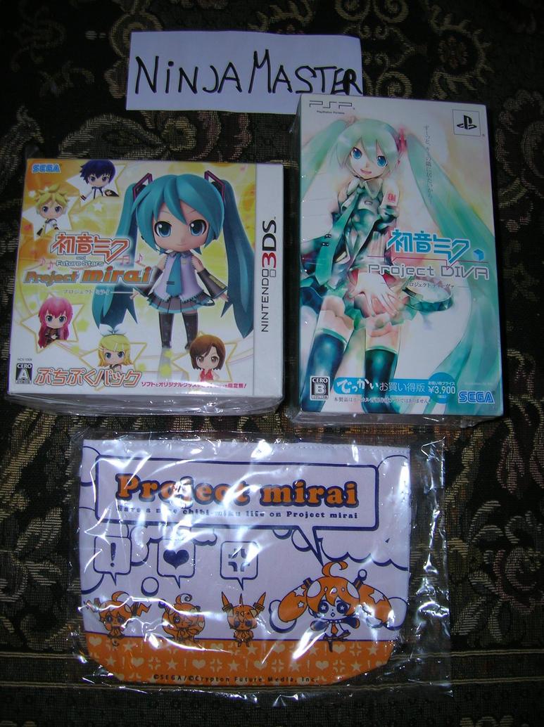 Limited Hatsune Miku 3DS e Psp by ninjamaster76