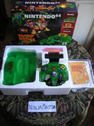 Nintendo 64 Green Donkey Kong 64 by ninjamaster76
