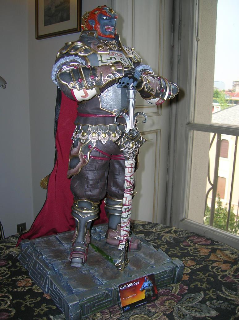 Dettaglio statua Ganondorf by ninjamaster76
