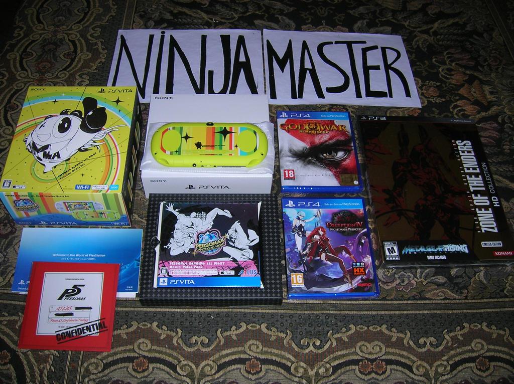 Console Ps Vita Persona e novit by ninjamaster76