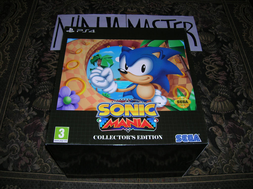 Collector Sonic Mania by ninjamaster76