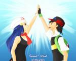 Satoshi + Hikari - Mata Aeru