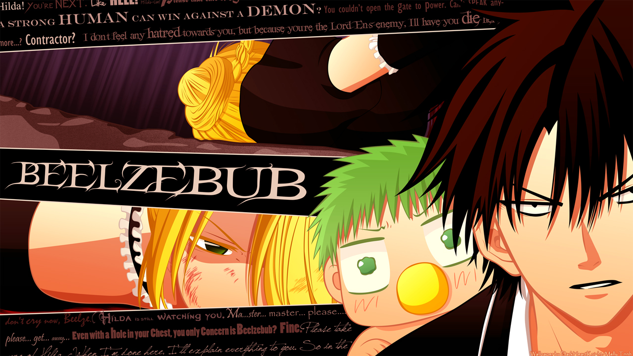 Beelzebub - Don't Cry by xox1melly1xox