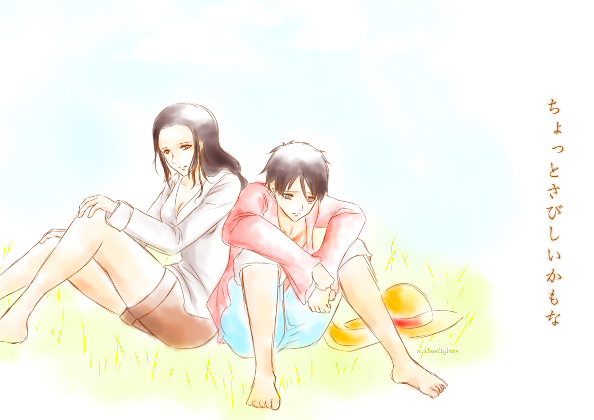 Luffy robin it 39 s a bit lonely by xox1melly1xox on - One piece luffy x robin ...