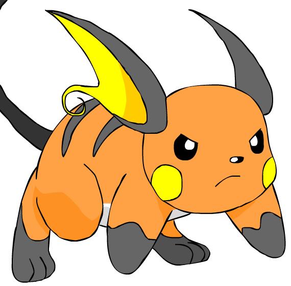 Shadow Pokemon Raichu Go Images