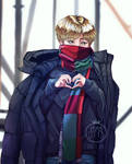 Red Scarf Jimin