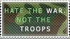 .:Hate the War:. by DietHandGrenade