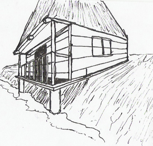 beach house by silverrs - Beach House Drawings