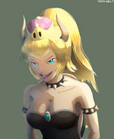 Bowsette by TonyWelt
