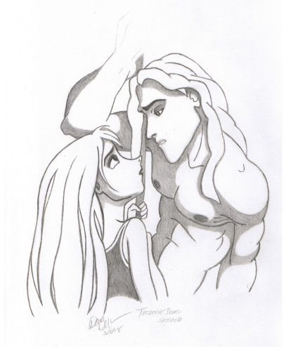 Tarzan and Jane by Silraen