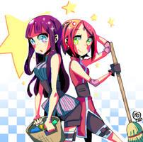 Cleaning Ninjas by Frankzie