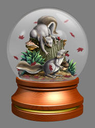 Squirrel Globe
