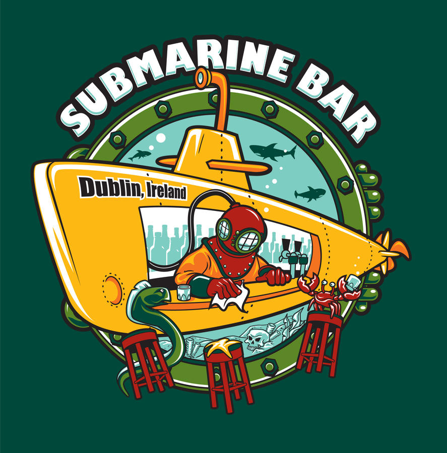 Submarine Bar by yolkum