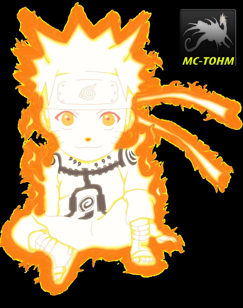 Naruto Chibi Bijuu Mode By MC-TOHM by MC-TOHM on DeviantArt