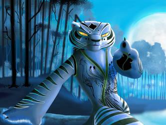 White tigress, I just Wanna play by Rocio-Aj