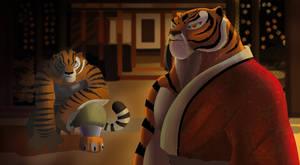 find my tigress - kung fu panda