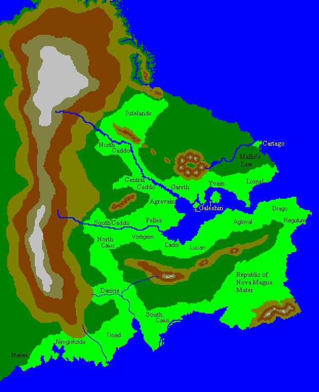 Eastern Patria circa 427 Secundum Pestis by dflickiss