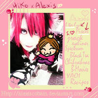 First ID -Me and Hiko from D.G by AlexisCobain