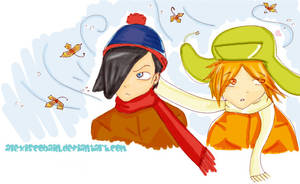 Stan and Kyle from South Park by AlexisCobain