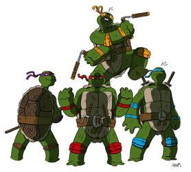 Hero Turtles by stayte-of-the-art