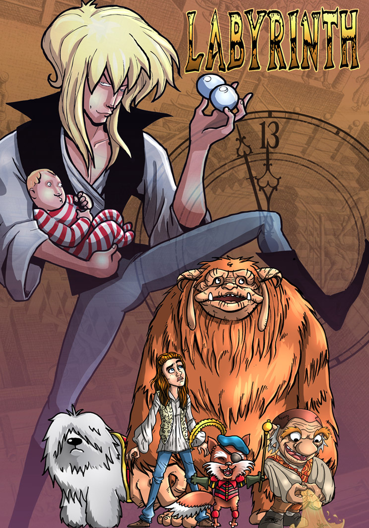 Labyrinth by stayte-of-the-art on DeviantArt Labyrinth 1986 Poster