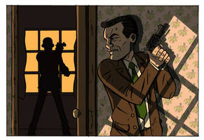 Pulp Detective 1 John Munro under fire! by stayte-of-the-art