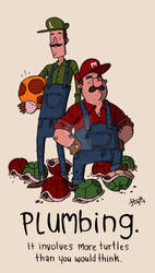 The Super Mario Brothers.