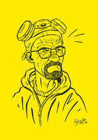 Walter White by stayte-of-the-art