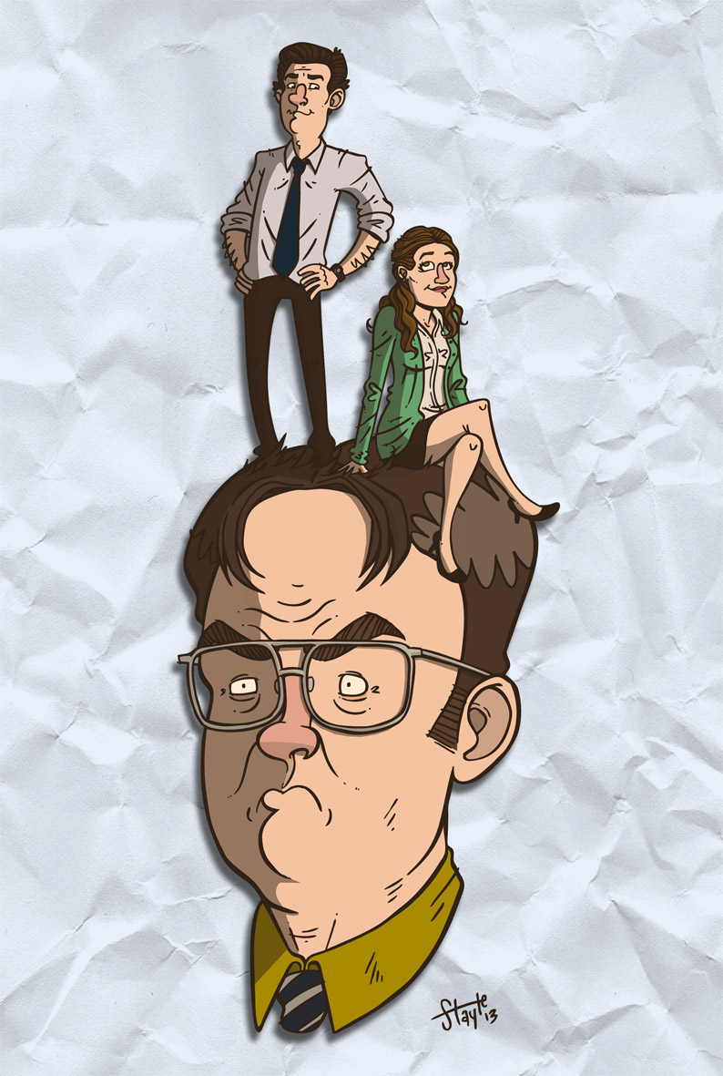 Jim And Pam By Stayte Of The Art