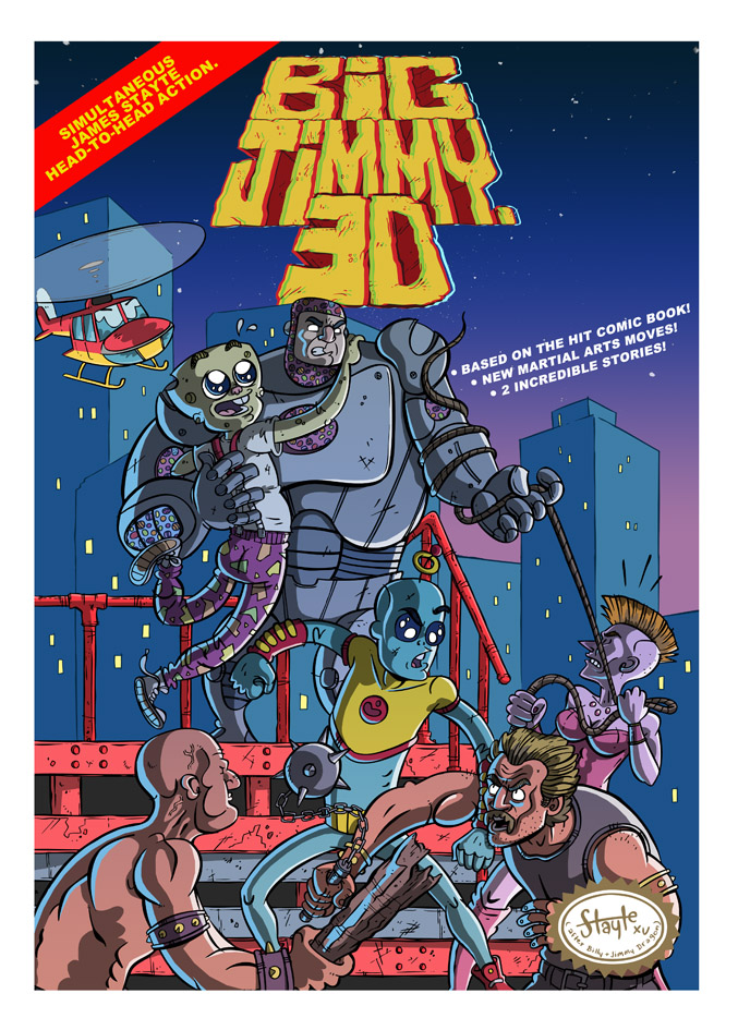 Big Jimmy 3D! by stayte-of-the-art
