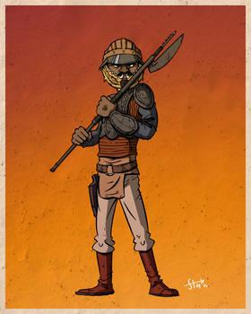 Lando Calrissian.
