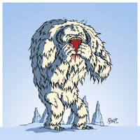Wampa. by stayte-of-the-art