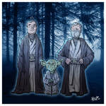 The Force Ghosts.
