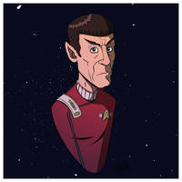 Spock by stayte-of-the-art