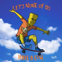 Hey, it's Bart, and he's doin' stuff!