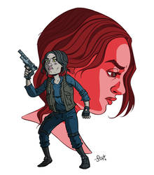 Jyn Erso. by stayte-of-the-art