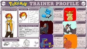 Pokemon Trainer Profile: Seiya